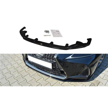 Sottoparaurti anteriore V.1 Lexus IS Mk3 F-Sport 2016-