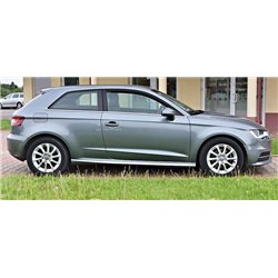 Minigonne laterali sottoporta Audi A3 8V 3 Porte SLine