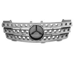 Mercedes W164 05-08 Griglia calandra anteriore silver-chrome