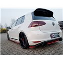Splitter sottopaurti laterali posteriori Volkwagen Golf VII GTI Clubsport 16-17