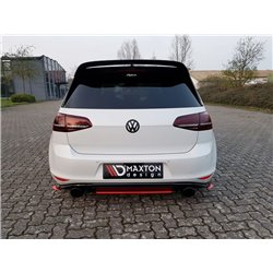 Estrattore sottopaurti centrale posteriore Volkwagen Golf VII GTI Clubsport 16-17