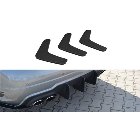 Diffusore sottoparaurti racing posteriore V.1 Mercedes C W204 AMG-Line 2011-2014