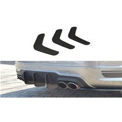 Diffusore sottoparaurti racing posteriore V.2 Mercedes C W204 AMG-Line 2011-2014