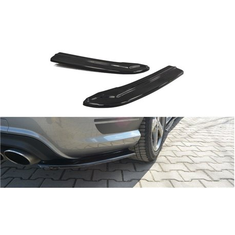 Sottoparaurti splitter laterali Mercedes C W204 AMG-Line 2011-2014