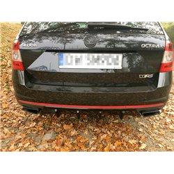 Estrattore sottoparaurti Skoda Octavia MK3 RS 2013-