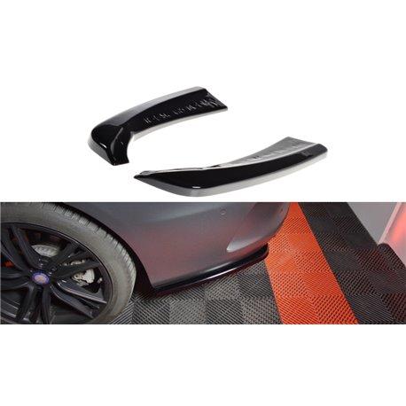 Sottoparaurti splitter laterali posteriori Mercedes W205 AMG-Line Coupe 2015-2018
