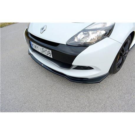 Sottoparaurti splitter anteriore Renault Clio 3 RS 09-12