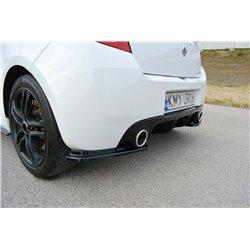 Sottoparaurti splitter posteriore Renault Clio 3 RS 09-12