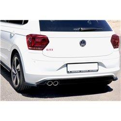 Splitter sottopaurti laterali posteriori Volkwagen Polo VI GTi 2017-