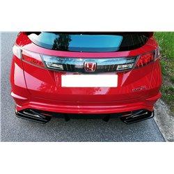 Sottoparaurti splitter laterali posteriori Honda Civic VIII Type R 07-10