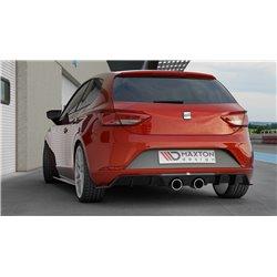 Estrattore sottoparaurti posteriore Seat Leon MK3 Cupra 2017-