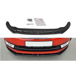 Sottoparaurti splitter anteriore V.2 Skoda Rapid 2012-