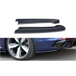 Sottoparaurti splitter laterali posteriori Audi A4 B9 RS4 Avant 2017-