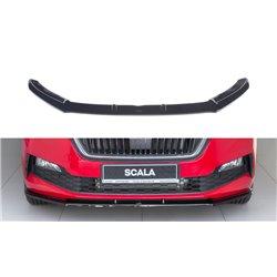 Sottoparaurti splitter anteriore V.1 Skoda Scala 2019-