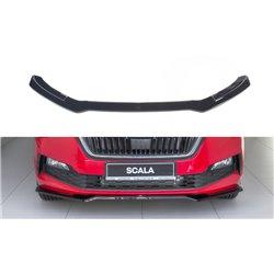 Sottoparaurti splitter anteriore V.2 Skoda Scala 2019-