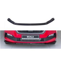 Sottoparaurti splitter anteriore V.3 Skoda Scala 2019-