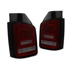 Coppia fari posteriori LED e DTS Volkswagen T5 03-09 Rossi e fume
