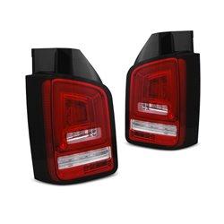 Coppia fari posteriori LED e DTS Volkswagen T5 03-09 Rossi e bianchi