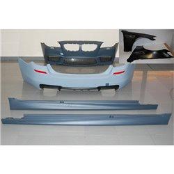 Kit estetico per BMW F10 10-12 Look M5 con Parafanghi