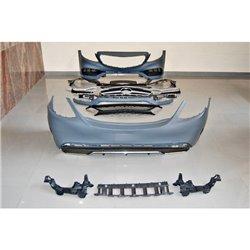 Kit estetico per Mercedes W205 4 p. Look C63