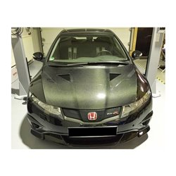 Cofano in carbonio Honda Civic 2006- Type R Mugen