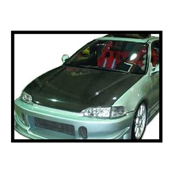 Cofano in carbonio Honda Civic '92 4P. S/T