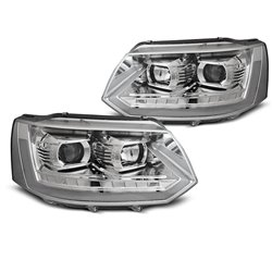 Fari Led Tube light Volkswagen T5 10-15 Chrome T6 Look
