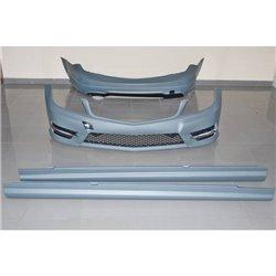 Kit estetico per Mercedes W204 4P 11-13 Look AMG uscita singola
