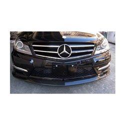 Sottoparaurti anteriore in carbonio Mercedes W204 C63 2011-2014