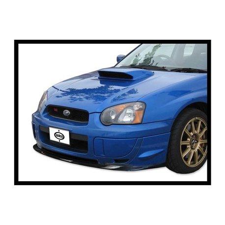Spoiler sottoparaurti anteriore in carbonio Subaru Impreza GDB STI 2004-