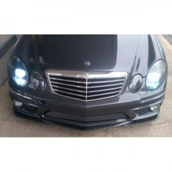 Spoiler sottoparaurti anteriore in carbonio Mercedes W211 07 AMG Look