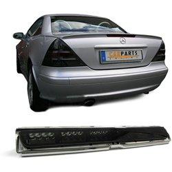 Terzo stop Mercedes SLK R170 e CLK W208 LED nero fumè