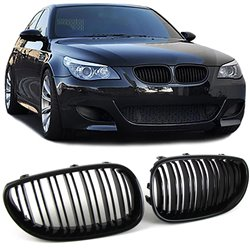 BMW E60/E61 03-10 Griglie M4 look nero lucido