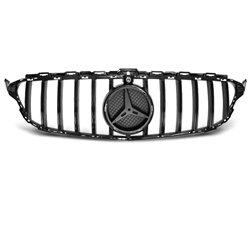 Mercedes W205 14-18 GT-R Look Griglia calandra anteriore black-glossy