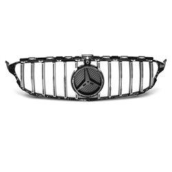 Mercedes W205 14-18 GT-R Look Griglia calandra anteriore chrome-black