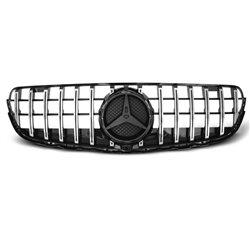 Mercedes GLC W253 2015- GT-R Look Griglia calandra anteriore Chrome black