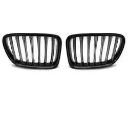 Griglie mascherine anteriori BMW X1 84 LCI 12-14 nero lucido
