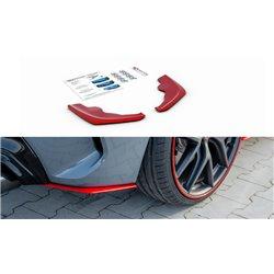 Sottoparaurti splitter laterali posteriori BMW 1 F40 M-Pack 2019- V.2 Red
