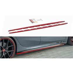 Lama sottoporta BMW 1 F40 M-Pack 2019- V.2 Red