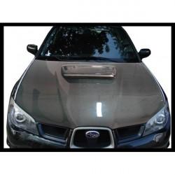 Cofano in carbonio Subaru Impreza 06