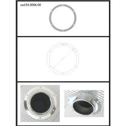 Protezione estetica inox Universale Ragazzon rotondo 102 mm