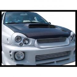 Cofano in carbonio Subaru Impreza 01