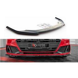 Sottoparaurti splitter anteriore V.1 Audi A7 C8 S-Line 2017-