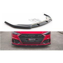 Sottoparaurti splitter anteriore V.2 Audi A7 C8 S-Line 2017-