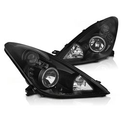 Fari Angel Eyes e LED Toyota Celica T230 99-05 Neri