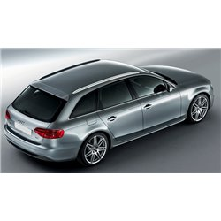 Spoiler lunotto posteriore Audi A4 B8 S-Line
