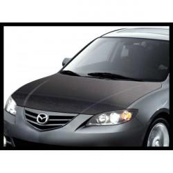 Cofano in carbonio Mazda 3 4p