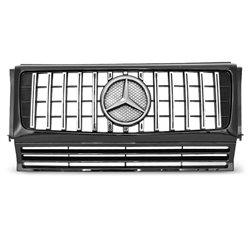 Mercedes Classe G W463 G63 Look Griglia calandra anteriore black-chrome