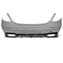 Paraurti posteriore Mercedes W213 16-19 4D E63 AMG Style (PDC)
