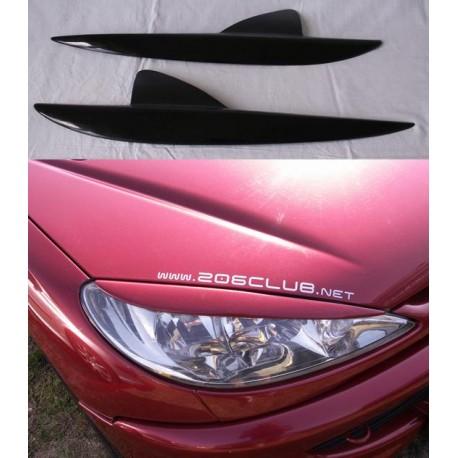 Palpebre fari Peugeot 206